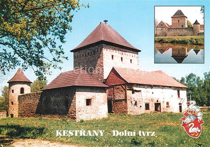 AK / Ansichtskarte Kestrany Dolni tvrz Burg  0