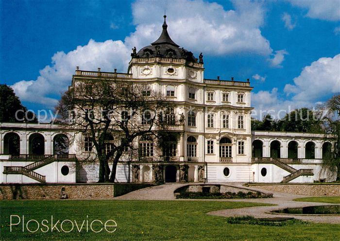 AK / Ansichtskarte Ploskovice Zamek Schloss Ploskovice 0