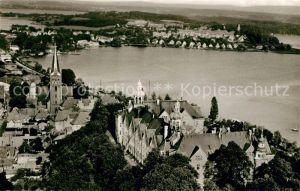 AK / Ansichtskarte Ploen_See Schloss Naturpark Seenlandschaft Holsteinische Schweiz Fliegeraufnahme Ploen_See