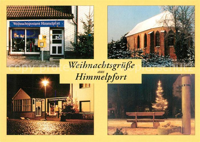 AK / Ansichtskarte Himmelpfort Coeli porta Kloster Kirche Christbaum Weihnachtskarte Himmelpfort 0