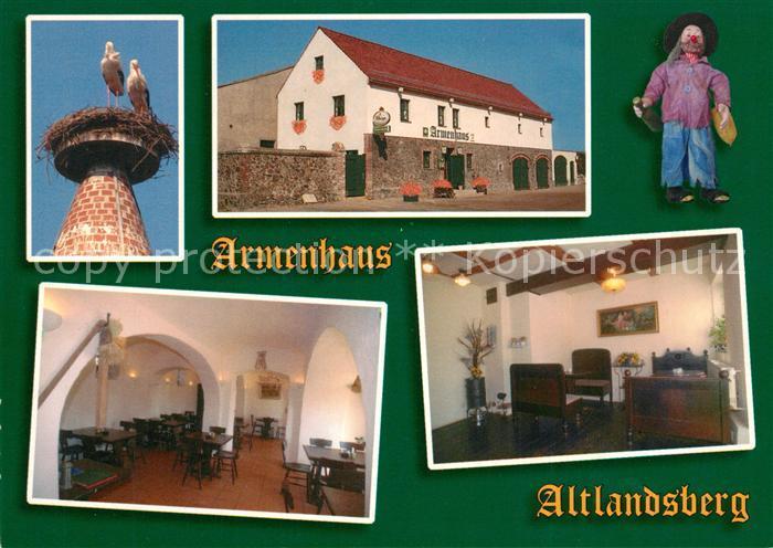 AK / Ansichtskarte Altlandsberg Restaurant Armenhaus Storchennest Altlandsberg