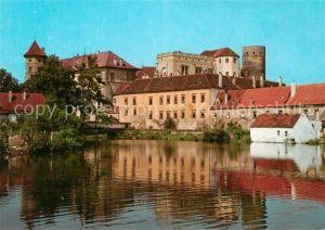 AK / Ansichtskarte Jindrichuv_Hradec Zamek Schloss Jindrichuv Hradec