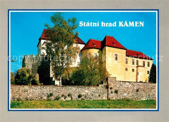 AK / Ansichtskarte Kamen_Stein Hrad Schloss Kamen  0