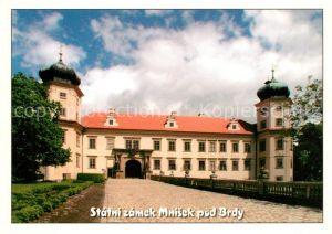 AK / Ansichtskarte Mnisek_pod_Brdy Zamek Schloss