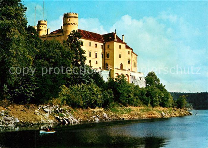 AK / Ansichtskarte Orlik_nad_Vltavou Zamek Burg an der Moldau Orlik_nad_Vltavou 0