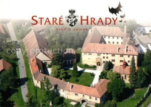 AK / Ansichtskarte Stare_Hrady Zamek Schloss Fliegeraufnahme