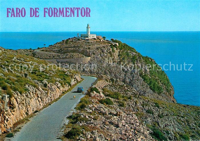 AK / Ansichtskarte Formentor El Faro Leuchtturm Formentor 0