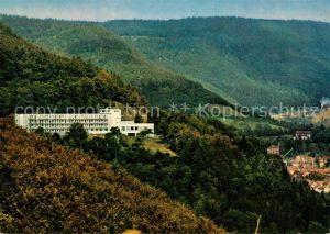 AK / Ansichtskarte Bad_Urach Haus auf der Alb Kurhaus Kurort Schwaebische Alb Bad_Urach