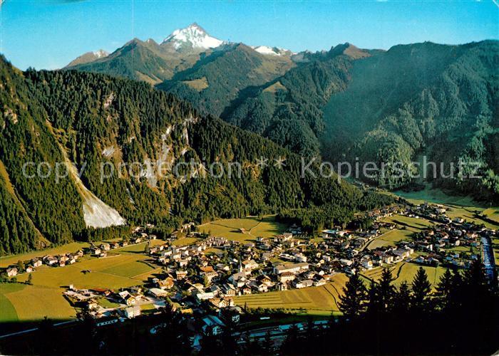 AK / Ansichtskarte Mayrhofen_Zillertal Panorama Blick gegen Ahornspitze Zillertaler Alpen Mayrhofen_Zillertal 0