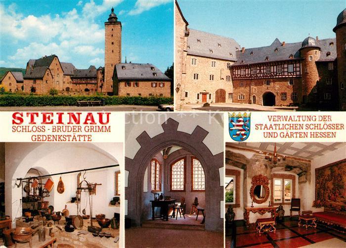 AK / Ansichtskarte Steinau_Strasse Schloss Brueder Grimm Gedenkstaette Steinau_Strasse 0