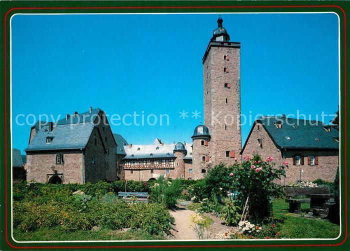 AK / Ansichtskarte Steinau_Strasse Schloss Steinau_Strasse 0