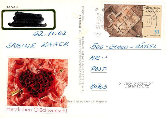 AK / Ansichtskarte Hanau_Main Rathaus Stadthalle Kesselstadt Altstaedter Markt Brunnen Hanau_Main 1