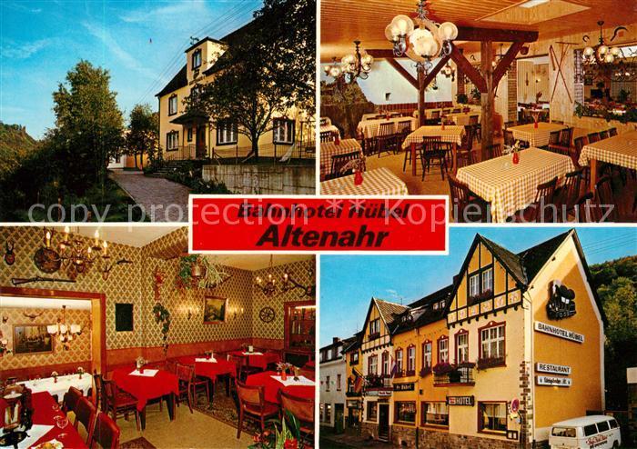 AK / Ansichtskarte Altenahr Bahnhotel Huebel Altenahr 0