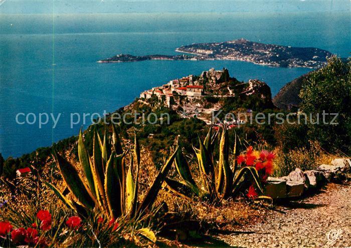 AK / Ansichtskarte Eze_Village Panorama Cap Ferrat Cote d Azur Eze_Village 0