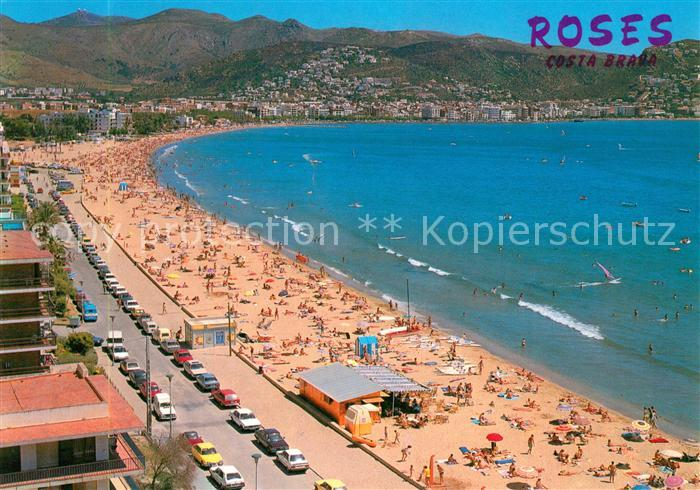 AK / Ansichtskarte Roses_Costa_Brava Gran Playa Golfo Roses_Costa_Brava 0