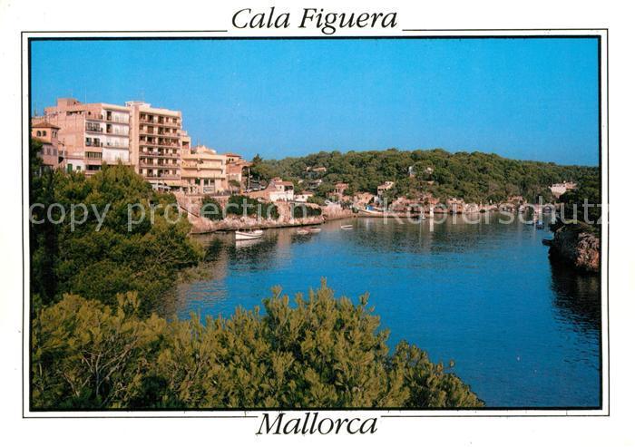 AK / Ansichtskarte Cala_Figuera_Mallorca Hotels an der Kueste Bucht Cala_Figuera_Mallorca 0