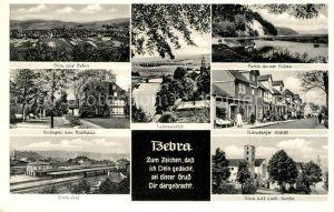 AK / Ansichtskarte Bebra Fulda Nuernberger Strasse Bahnhof Bebra