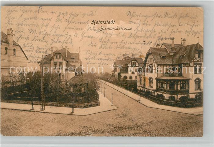 AK / Ansichtskarte Helmstedt Bismarckstrasse Helmstedt