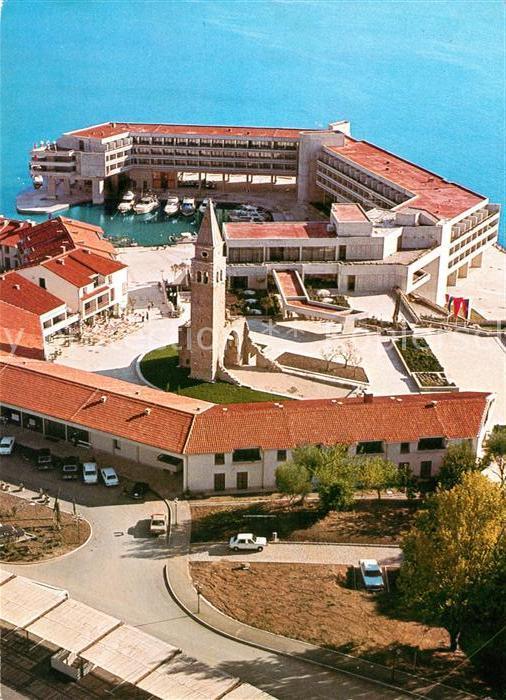 AK / Ansichtskarte Portoroz Fliegeraufnahme Hotelsko naselhe Bernardin Portoroz