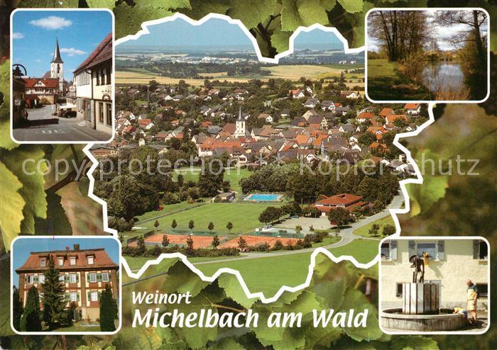 AK / Ansichtskarte oehringen_Hohenlohe Weinort oehringen Hohenlohe
