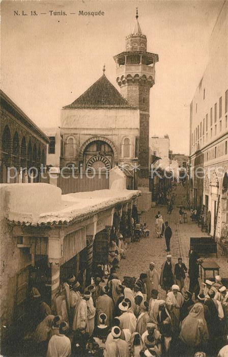 AK / Ansichtskarte Tunis Mosquee Tunis