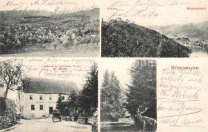 AK / Ansichtskarte Mueckenloch Neckarsteinach Gasthaus zur goldenen Krone Mueckenloch