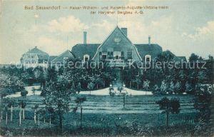 AK / Ansichtskarte Bad_Sassendorf Kaiser Wilhelm  Kaiserin Auguste Viktoria Heim  Bad_Sassendorf