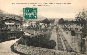 AK / Ansichtskarte Saint Pierre de Boeuf Gare  Saint Pierre de Boeuf