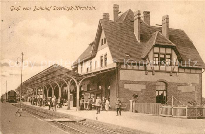 AK / Ansichtskarte Kirchhain_Doberlug Kirchhain Bahnhof Kirchhain