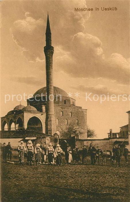 AK / Ansichtskarte Ueskueb Moschee Ueskueb