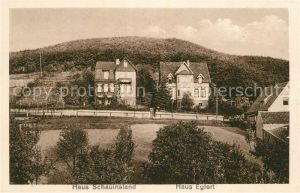 AK / Ansichtskarte Wernigerode Hasserode Haus Schauinsland Haus Eglert Wernigerode Hasserode