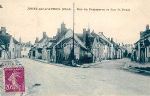 AK / Ansichtskarte Jouet sur l_Aubois Rue du Commerce et Rue St Denis Jouet sur l Aubois