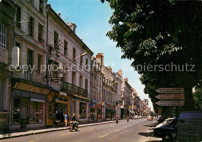 AK / Ansichtskarte Chatellerault Boulevard Blossac Chatellerault