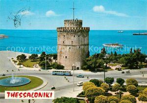 AK / Ansichtskarte Thessaloniki La Tour Blanche Weisser Turm Thessaloniki