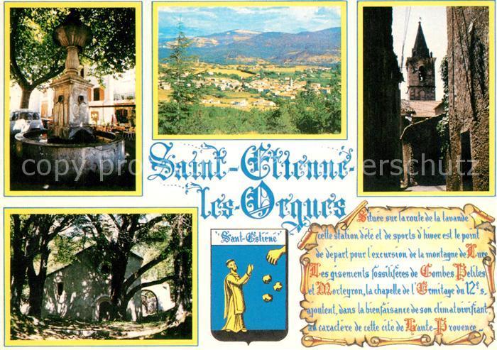 AK / Ansichtskarte Saint Etienne les Orgues Vue partielle Saint Etienne les Orgues
