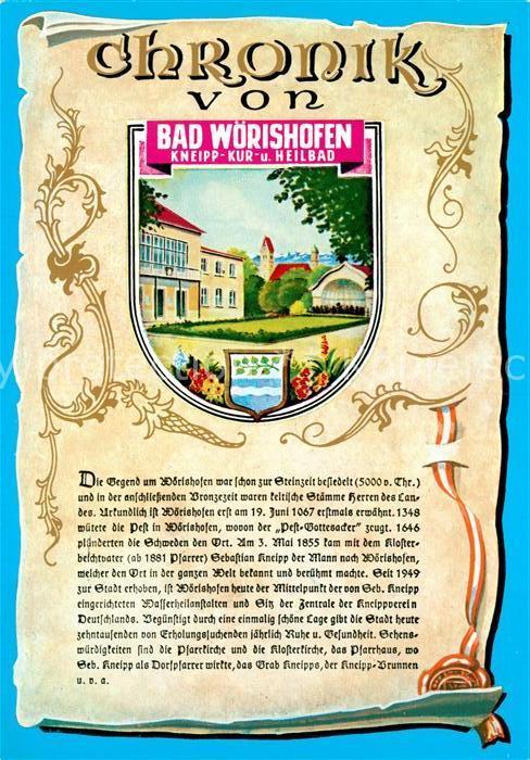 AK / Ansichtskarte Bad_Woerishofen Chronik  Bad_Woerishofen
