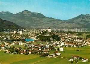 AK / Ansichtskarte Kufstein_Tirol Fliegeraufnahme Grenzstadt Kufstein_Tirol
