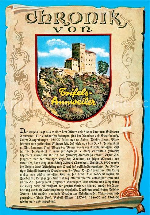 AK / Ansichtskarte Annweiler_Trifels Chronik  Annweiler_Trifels 0