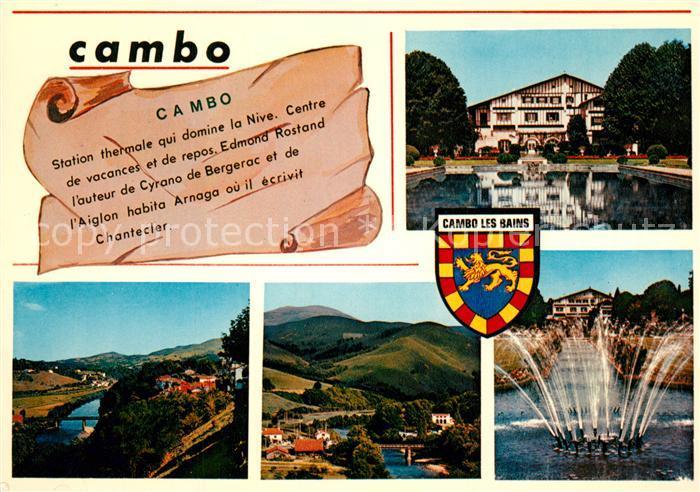 AK / Ansichtskarte Cambo les Bains Station thermale qui doine la Nive Cambo les Bains