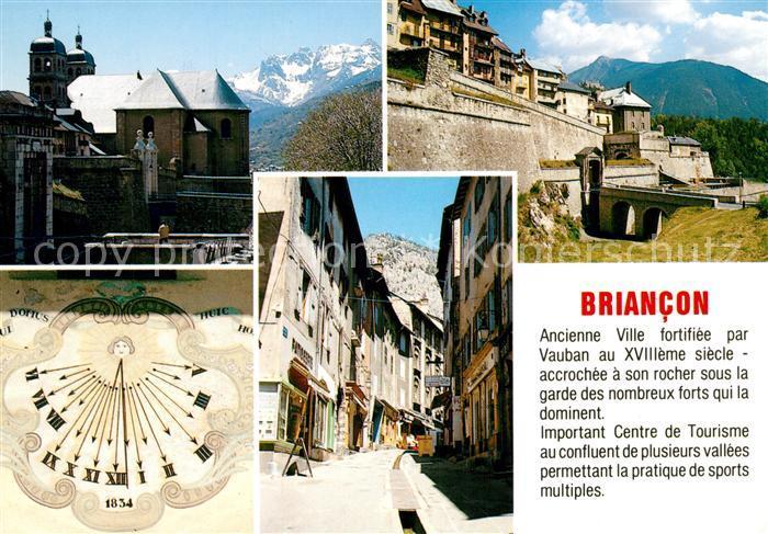 AK / Ansichtskarte Briancon Ville fortifee par Vauban Accrochee a son rocher sous la garde des nombreux forts qui la dominent Briancon