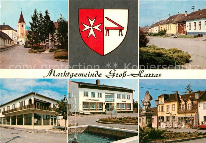 AK / Ansichtskarte Grossharras Marktgemeinde im Weinviertel Grossharras