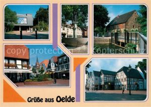 AK / Ansichtskarte Oelde Stadtansichten Brunnen Oelde