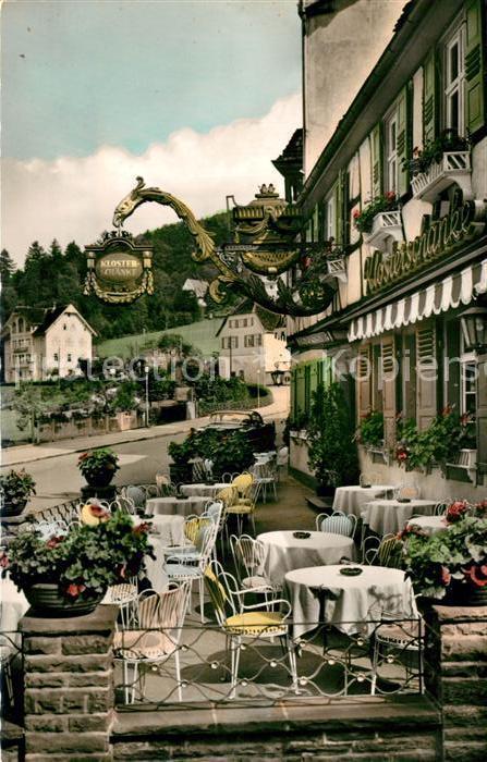 AK / Ansichtskarte Bad_Herrenalb Klosterschaenke Hotel Post Ochsen ...