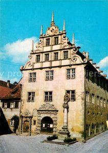 AK / Ansichtskarte Sulzfeld_Main Rathaus Sulzfeld Main