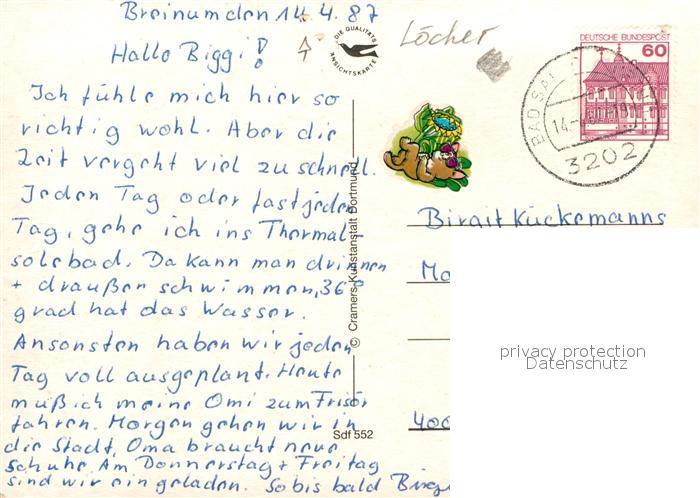 AK / Ansichtskarte Bad_Salzdetfurth Kuranlagen Kurpark Hauptstrasse Thermalsolebad Tenniscenter Salzeklinik Bad_Salzdetfurth 1