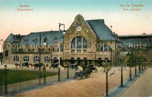 AK / Ansichtskarte Aachen Hauptbahnhof Aachen
