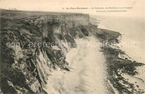 AK / Ansichtskarte Normandie_Region Le Calvados ses Rochers et ses Falaises Normandie Region