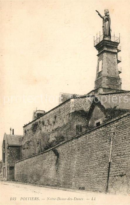 AK / Ansichtskarte Poitiers_Vienne Notre Dame des Dunes Poitiers Vienne