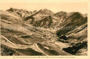 AK / Ansichtskarte Col_de_Vars Les Grands Cols de Provence et l'Aiguille de Chambeyron Col_de_Vars