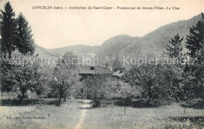 AK / Ansichtskarte Goncelin Instituion du Sacre Coeur Pensionnat de Jeunes Filles Le Clos Goncelin
